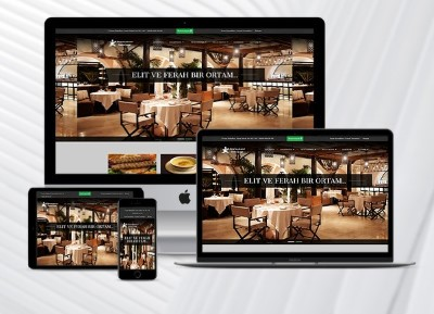 Restaurant Web Paketi Blacklife