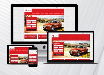 Rent A Car Web Paketi Red